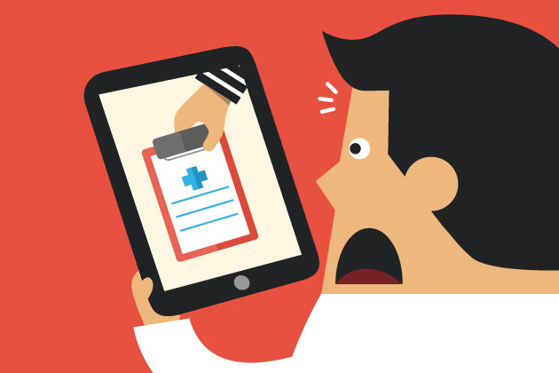 Securing electronic health records on mobile devices