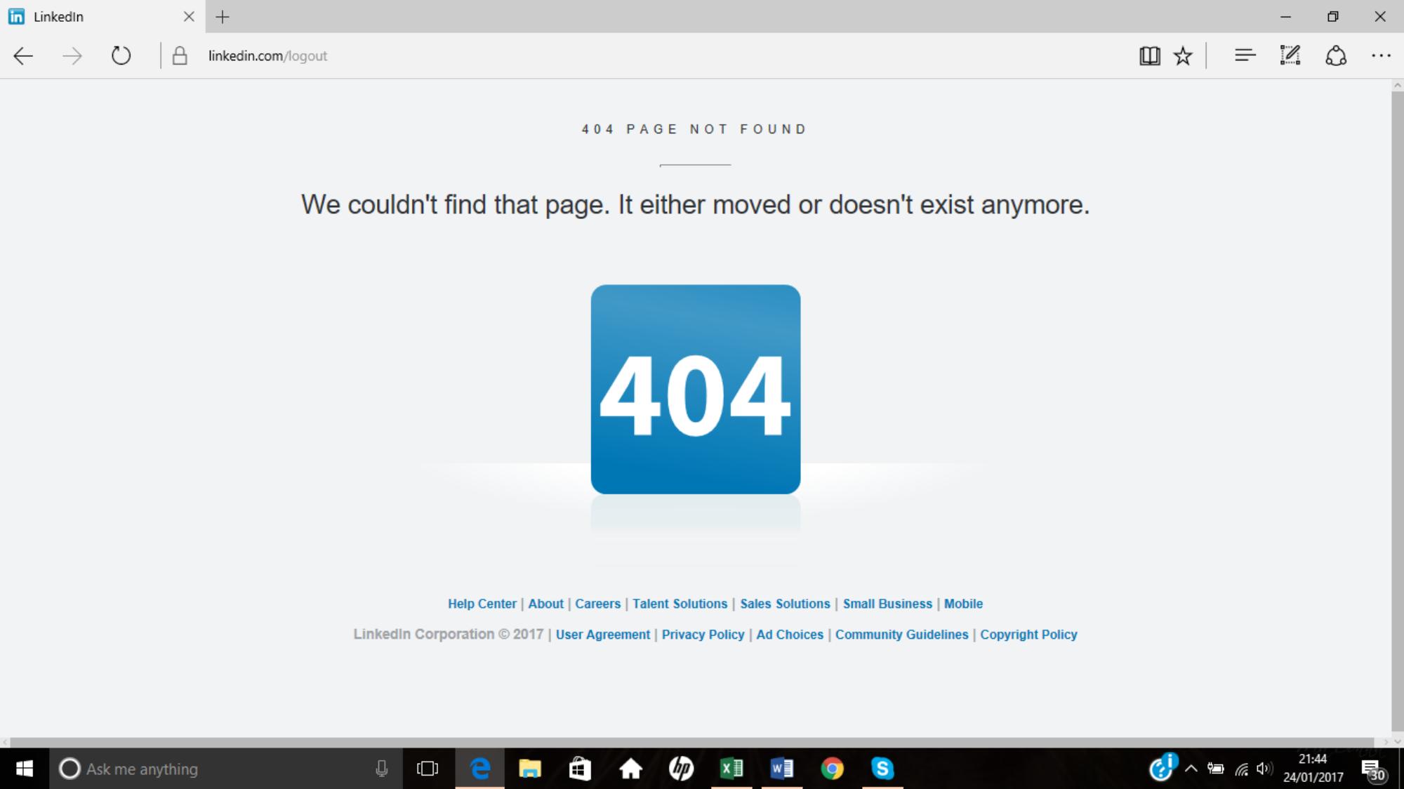 * Test [LinkedOFF] ovvero Linkedin ha qualche problema
