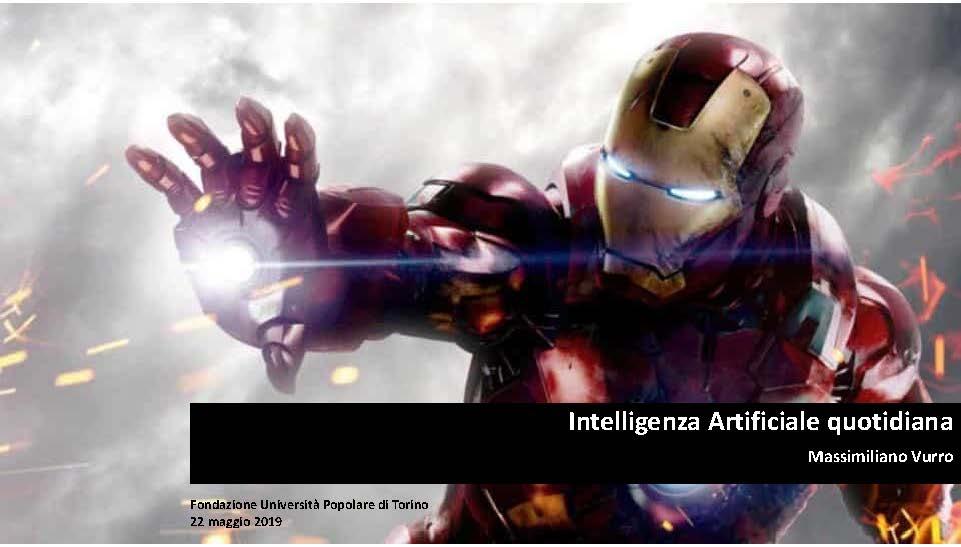 Intelligenza Artificiale quotidiana